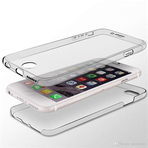 Iphone 6 6s 360 Protection Neo Hybrid Fre Murah for iphone 7 6 plus 6s shockproof hybrid 360 176 protection soft tpu clear ultra thin