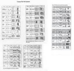 architectural floor plans symbols prater allan mechanical drawing exam info