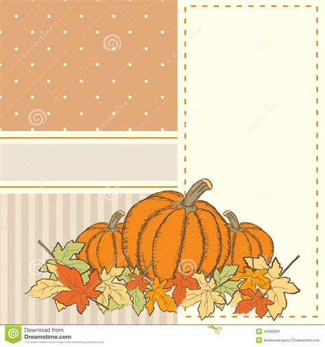 thanksgiving card template free illustrator invitation or greeting thanksgiving card