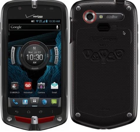 Rugged Android Phone Verizon by Casio G Zone Commando 4g Lte C811 Verizon Android Rugged