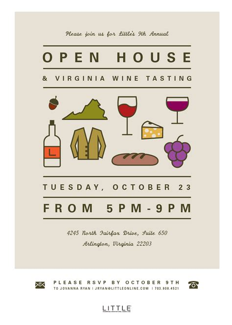 business open house invitation search events