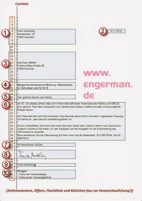 Schweiz Brief Schreiben Formeller Brief Schreiben Advanced Grammar German Grammar And Language Acquisition