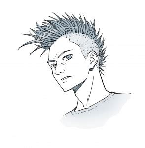 how to draw spiky anime hair manga monday how to draw hair with mark crilley impact