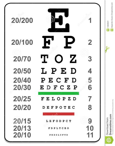 printable medical eye chart 4 best images of medical eye chart tests vision test eye
