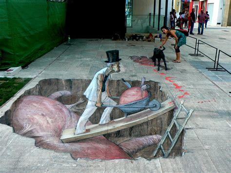 layout artist 3d 3d street art daily dose of creativity