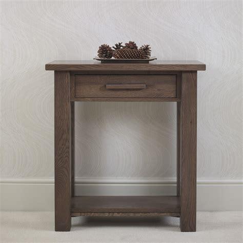 ora oak small console table  tempo furniture