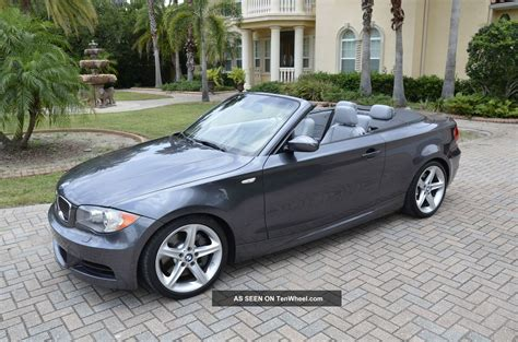 bmw 135i turbo 2008 bmw 135i convertible 3 0l turbo