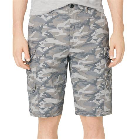Cargo Us Army Levi S Uniqlo Calvin Klein Alpha Adidas Jacket calvin klein camo cargo shorts in gray for thunder grey lyst