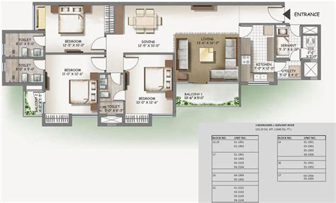 lotus boulevard floor plan floor plans 2bhk 3 bhk 3c lotus boulevard greater