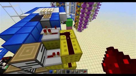 Multi Max 33 R minecraft tutorial instant elevator revised part 1 1