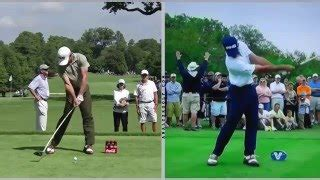 difference between driver swing and iron swing iron vs driver pros vs ams
