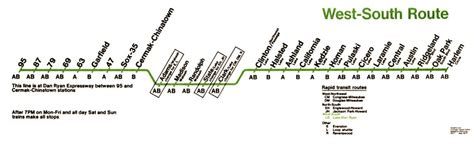 green line map chicago green line chicago map