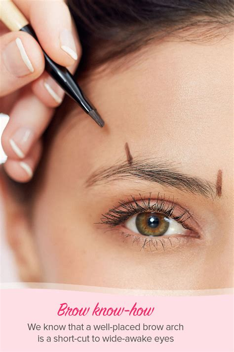 best eyebrows the best eyebrow shapes for your and eye shape