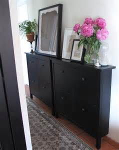 Narrow Shoe Storage Cabinet Styling A Small Space Or Office By Re Purposing An Ikea Mud Room Shoe Cabinet For Filing