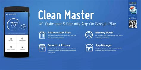 free apps android clean master app android free