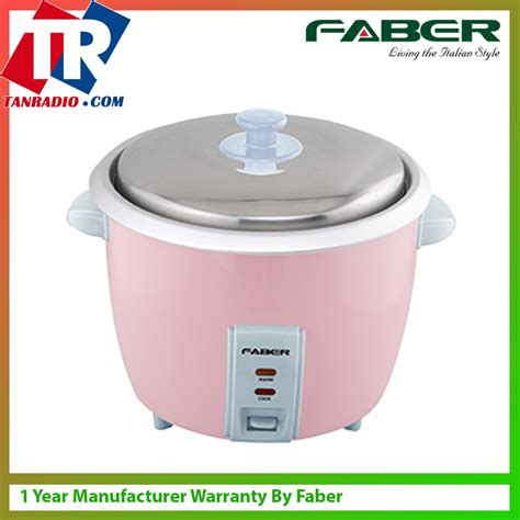 Rice Cooker 0 6 Liter faber rice cooker 0 6l fab frc 106 end 3 20 2019 5 26 pm