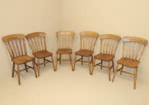farmhouse kitchen furniture set of 6 farmhouse kitchen chairs r3538 antiques atlas
