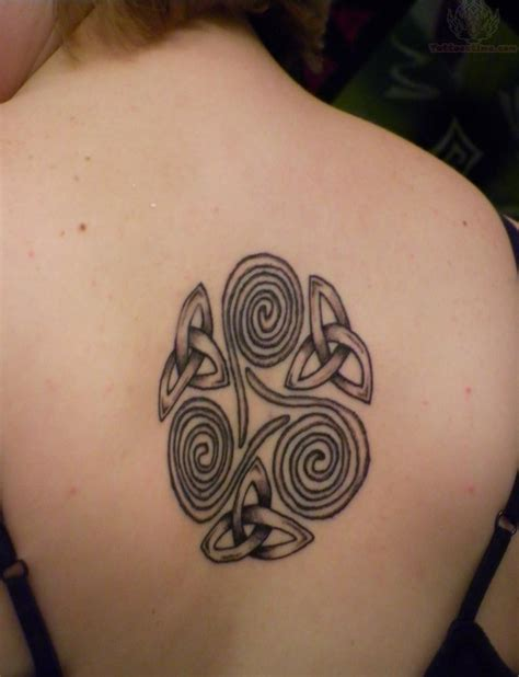 celtic back tattoo designs 30 most amazing spiral tattoos golfian