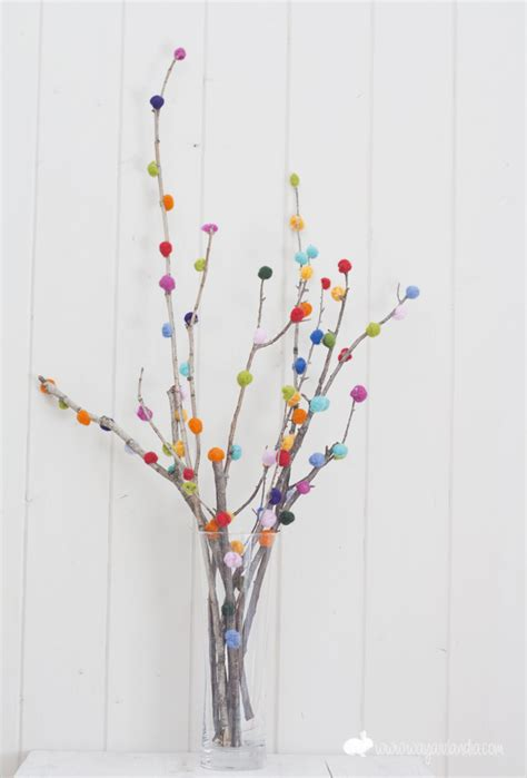 pom branches this would be an easy diy decorating idea