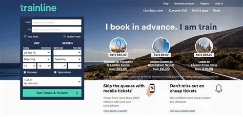 trainline best fare finder the trainline cashback discount codes topcashback