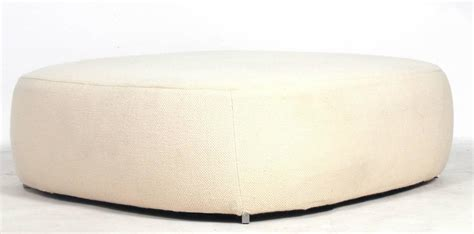 Modern Pouf Ottoman Large Scale Square Modern Ottoman By Piero Lissoni For Fritz Hansen At 1stdibs