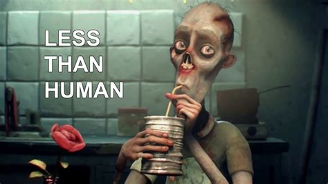 film anime bertema zombie 3d animated short film less than human by the