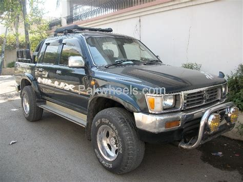 Cool Cabin Plans toyota hilux 4x4 double cab standard 1998 for sale in