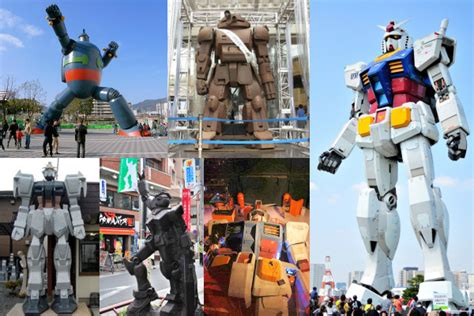 top  giant robots japanese attractions