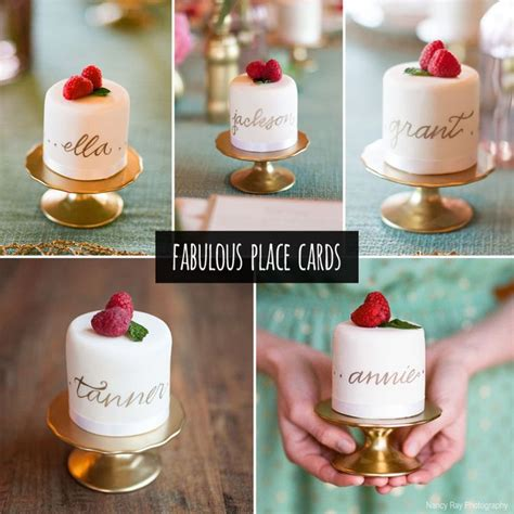 Cool Ideas For Wedding Place Cards