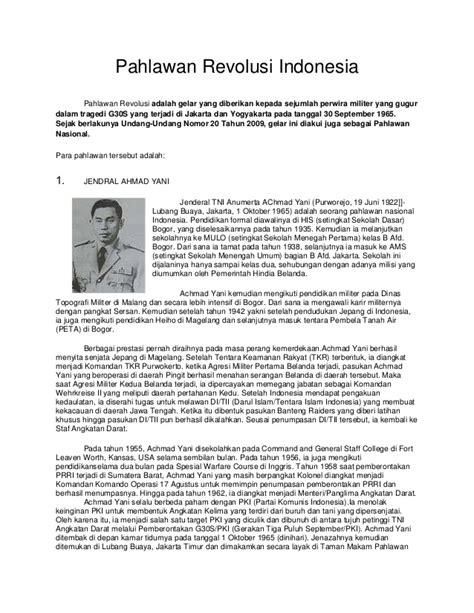 biography of ahmad yani biografi pahlawan revolusi indonesia