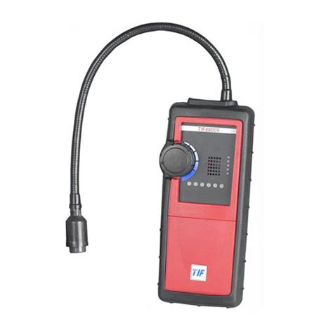 robinair tif8800x combustible gas leak detector at the