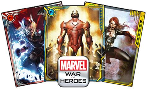 marvel woh card template marvel war of heroes forum mobile tcg community