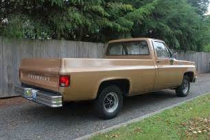 1980 Chevrolet Truck 1980 Chevrolet Truck For Sale 3on4 Rear Vintage Swedish Cars