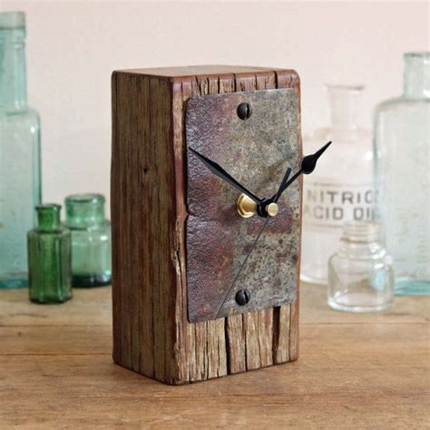 rustic clock best 25 small mantel clocks ideas on