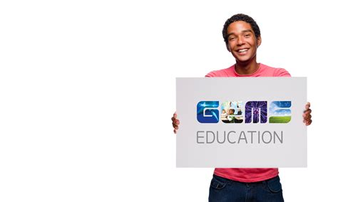 gems education brand identity by neon
