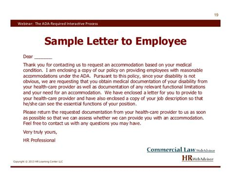 Explanation Letter To Employer Ada Letter Images Search