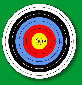 printable number targets archery screenwriting from iowa