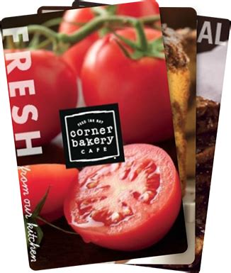 Corner Bakery Gift Card - corner bakery cafe gift cards