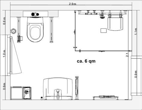 Kleines Bad Rollstuhlgerecht by Frieling Planungsbeispiele Und L 246 Sungen
