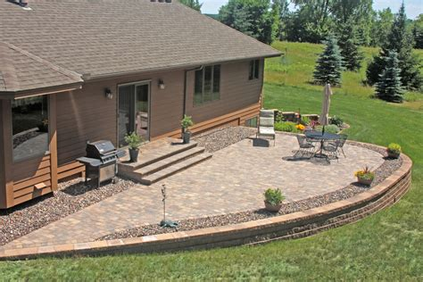 Patio Pavers Utica Ny How To Build A Retaining Wall For Raised Patio Patio Designs
