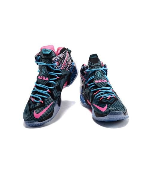 lebron 12 sneakers pink black mens nike lebron 12 shoes