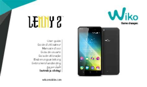 Baterai Wiko Lenny 2 mode d emploi wiko lenny 2 t 233 l 233 phone portable trouver