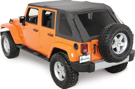 Jeep Yj Frameless Soft Top Rage Products 106035 Rage Products Complete Trail