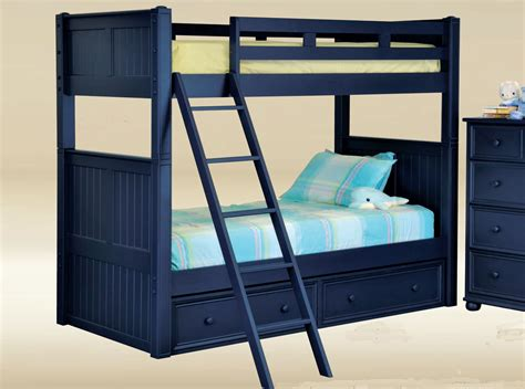 Navy Bunk Bed Dillon Navy Blue Bunk Bed Blue Bunk Beds