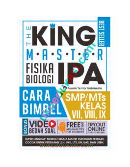 The King Us Sd Mi 2018 Bedah Kisi the king master ipa smp buku edukasi