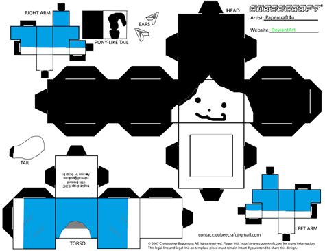 sans templates temmie cubee by papercraft4you on deviantart
