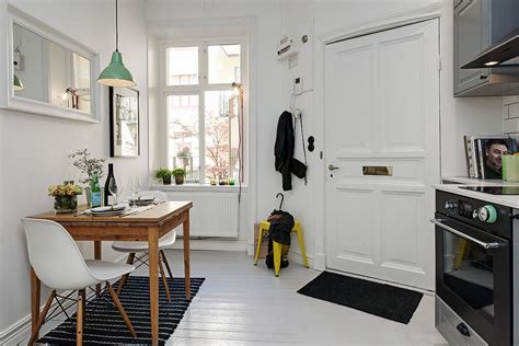 one room appartment scandinavian one room studio apartment in gothenburg digsdigs