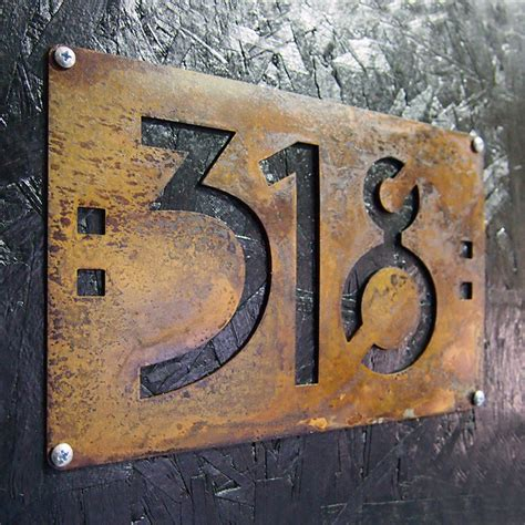 Home Design Stores Palm Springs address plaques traditional house numbers
