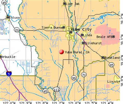 zip code map yuba city ca yuba rural california ca 95993 profile population