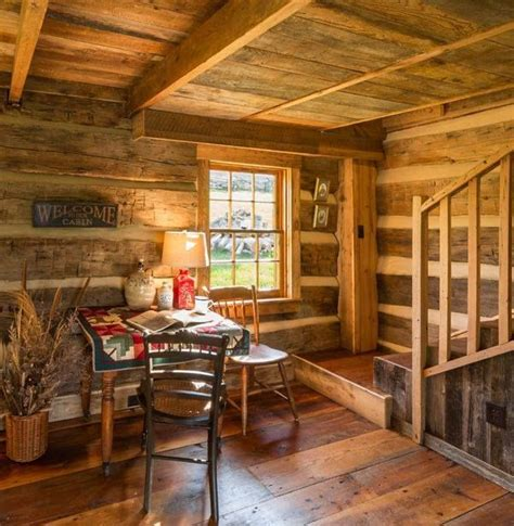 cozy cabin rustic cabin interiors pinterest vaulted 954 best log homes cabins images on pinterest log cabins